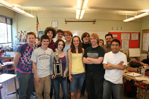 The Mad Mouth's Speech and Debate team